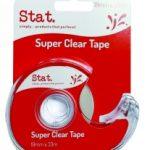 sticky tape on dispenser